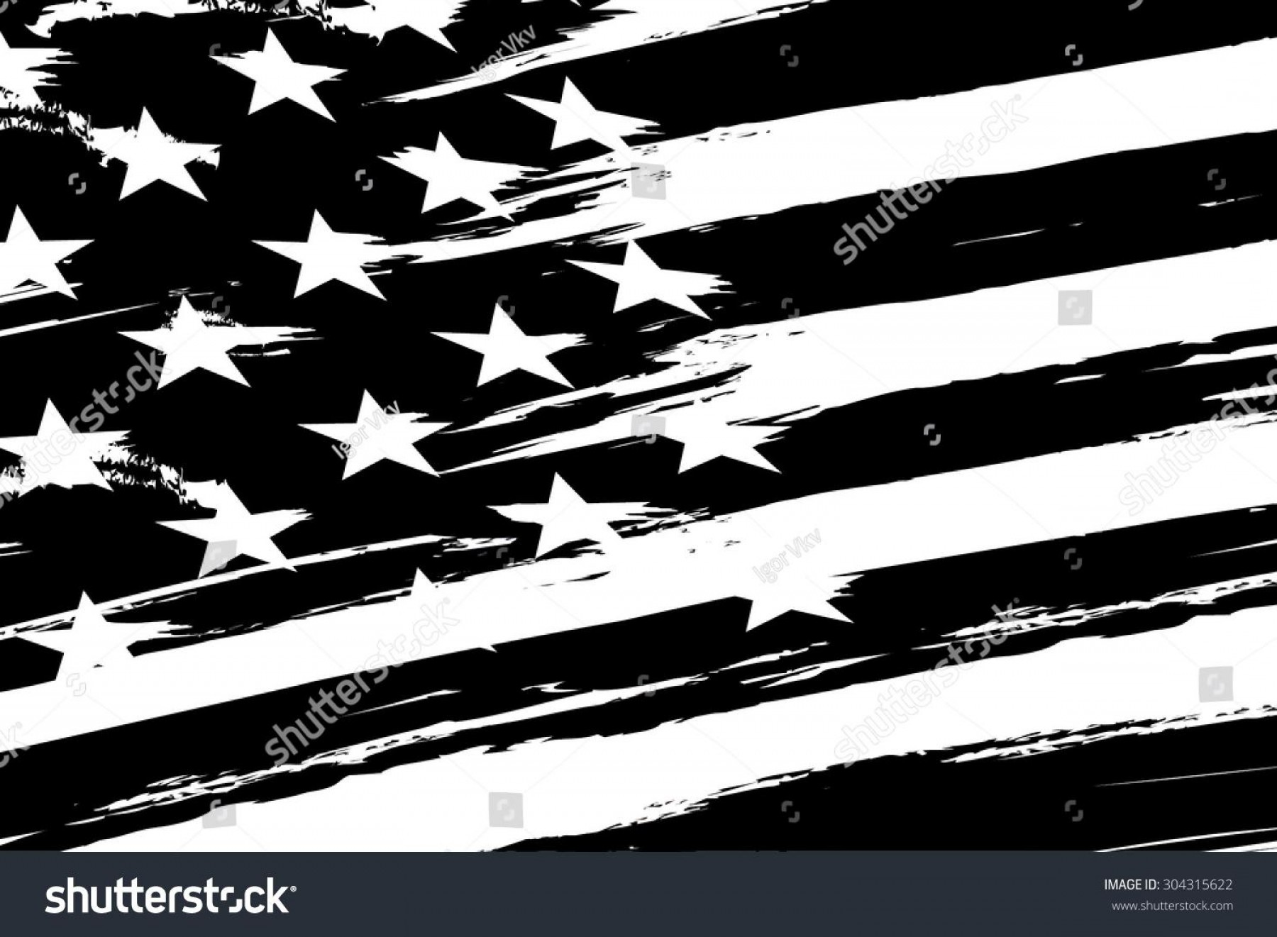 1800x1321 Hd Black And White Tattered American Flag Vector Design Rongholland