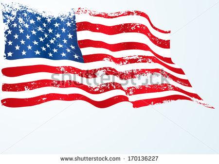 450x338 14 Torn American Flag Vectors Design Images