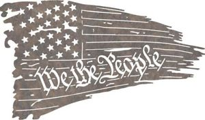 300x176 Dxf Cnc Dxf For Plasma Router Vector Tattered Flag We The People