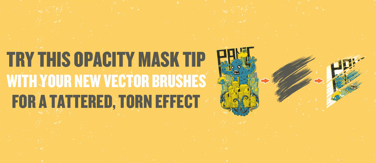 1270x550 How To Use An Opacity Mask In Illustrator