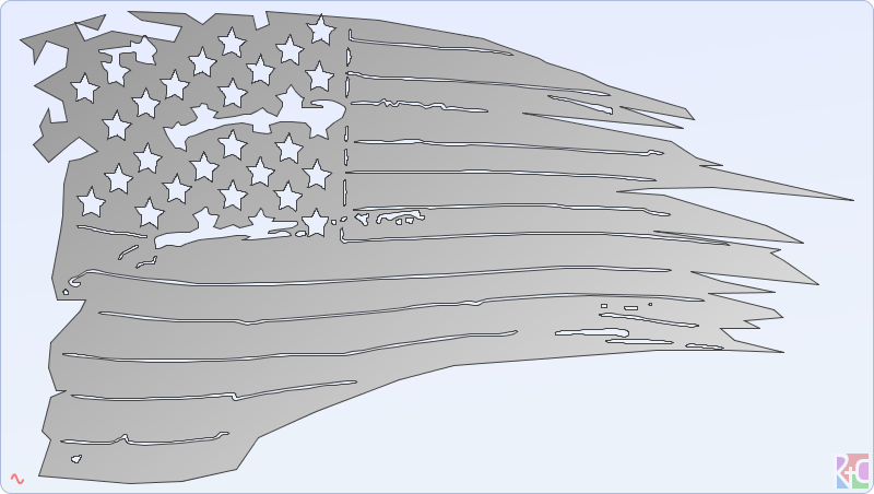 800x452 Collection Of Ripped Flag Drawing High Quality, Free