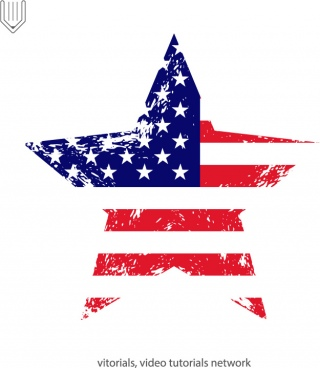 320x368 Torn American Flag Vector Free Vector Download (3,160 Free Vector