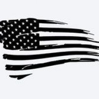 200x200 Torn Flag Outline Clipart Collection