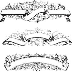 Tattoo Banner Vector