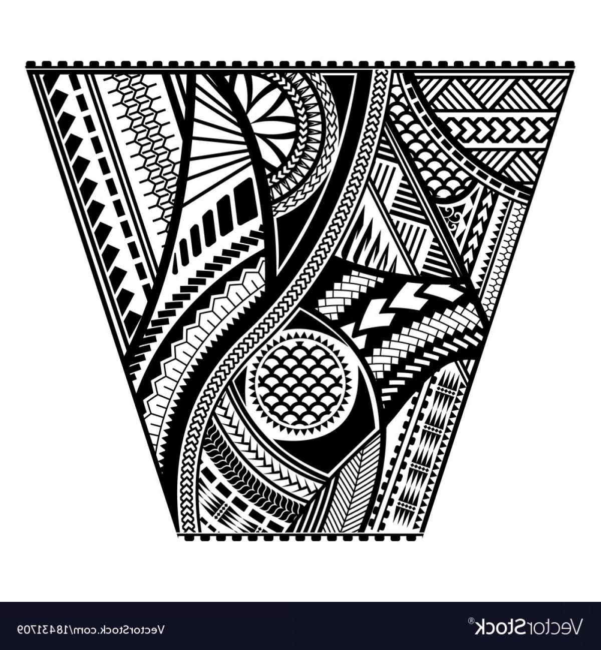 1200x1296 Polynesian Tattoo Style Sleeve Design Vector Createmepink