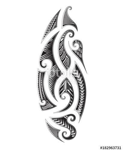 409x500 Tattoo Tribal Maori Vector Designs Element. Tribal Tattoos. Art