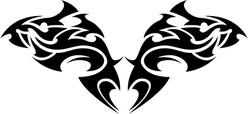 492x226 Tribal Tattoo Drawing Free Vector Download (90,294 Free Vector
