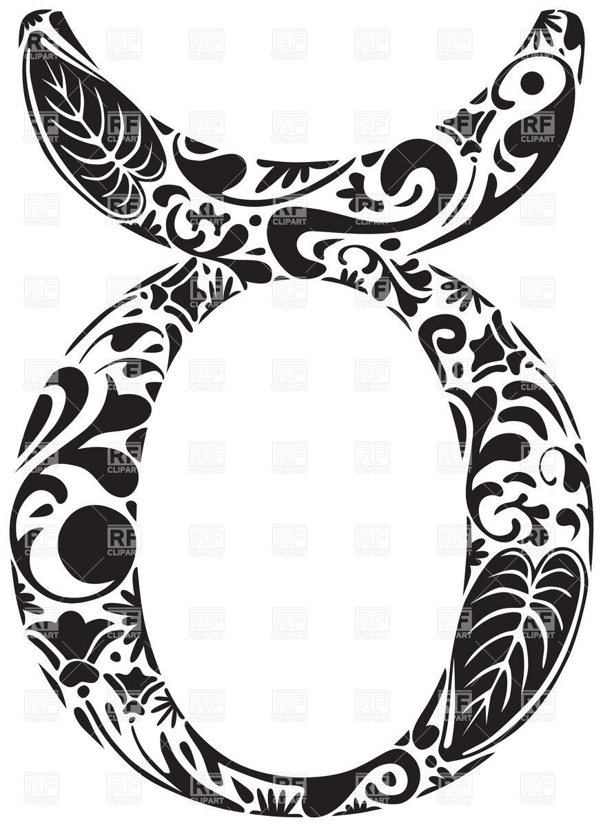 875x1200 Ornamental Zodiac Sign