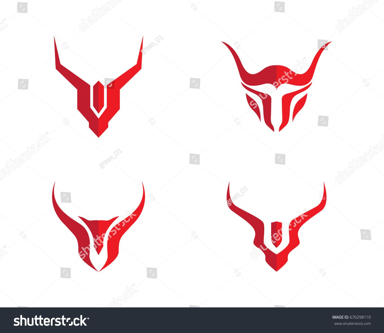 1500x1300 Taurus Bull Logo Template Vector Icon Illustration, Red Kudu