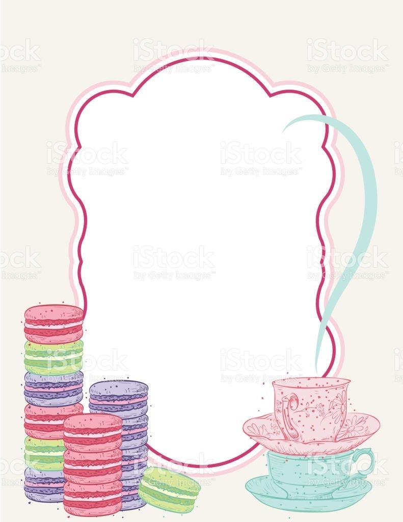 791x1024 Tea Party Clipart Background