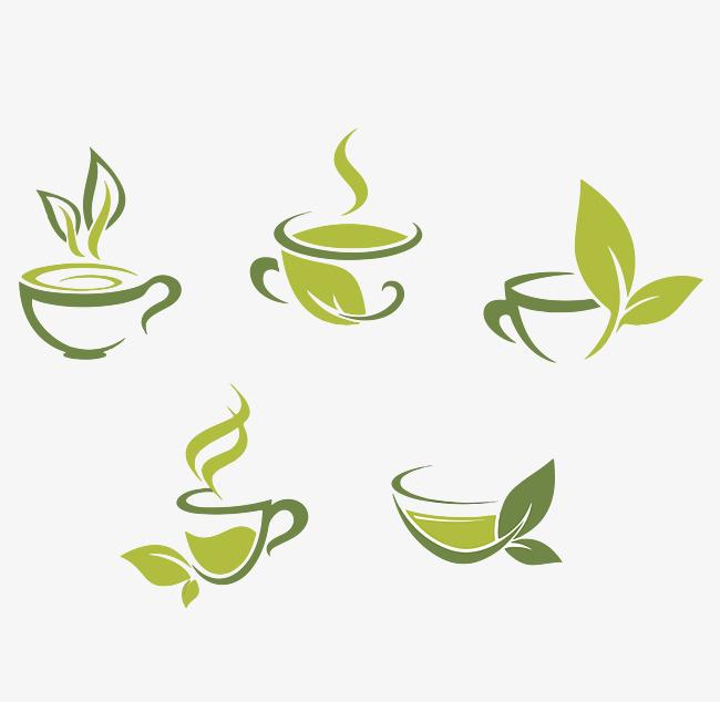 650x634 Green Tea Vector Material Download, Tea Set, Hot Tea, Pattern Png