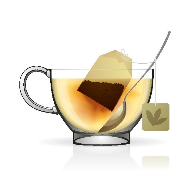 640x640 Cup Of Tea Vector Image