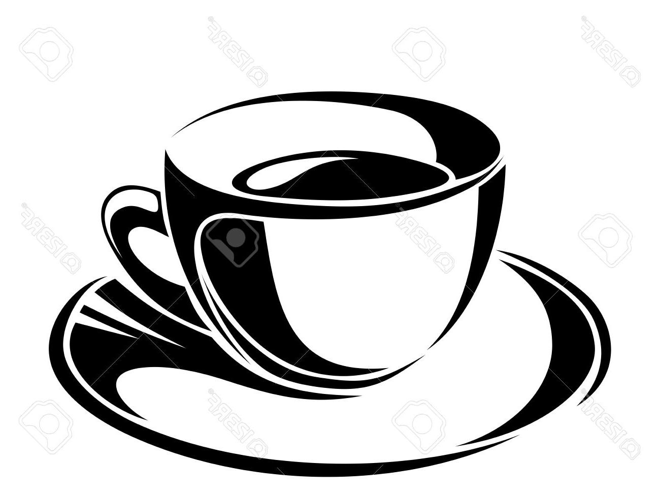 1300x975 Top 10 Cup Of Tea Vector Black Silhouettes Image