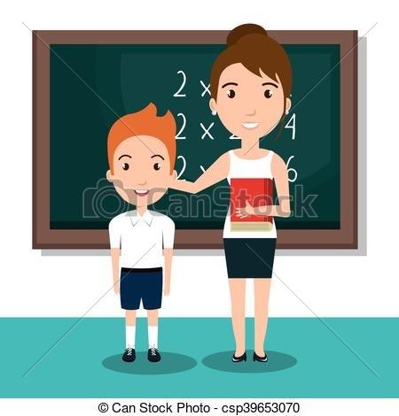450x470 Student School Teacher Icon Vector Illustration Design Vectors