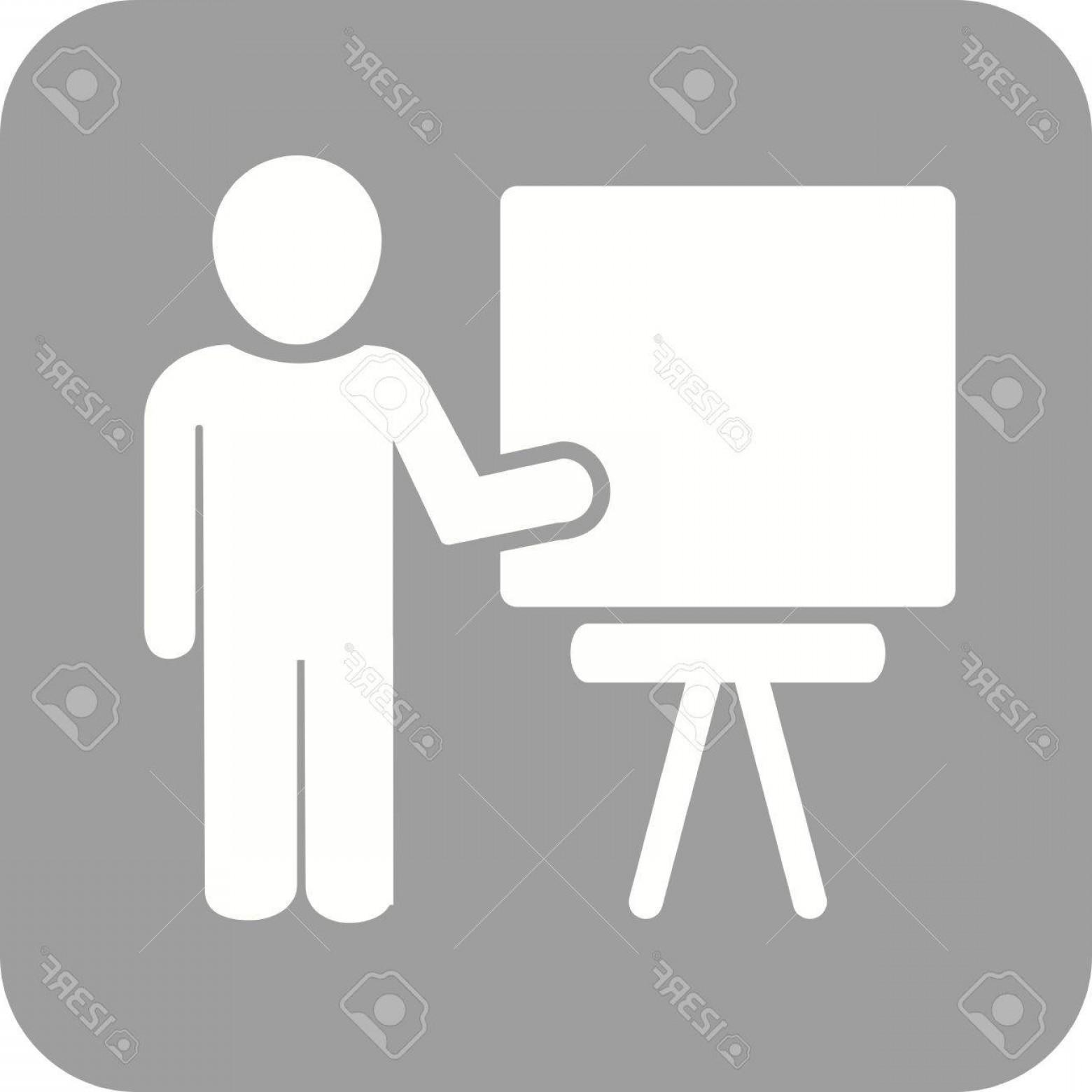 1560x1560 Photostock Vector Professor Male Teacher Icon Vector Image Can