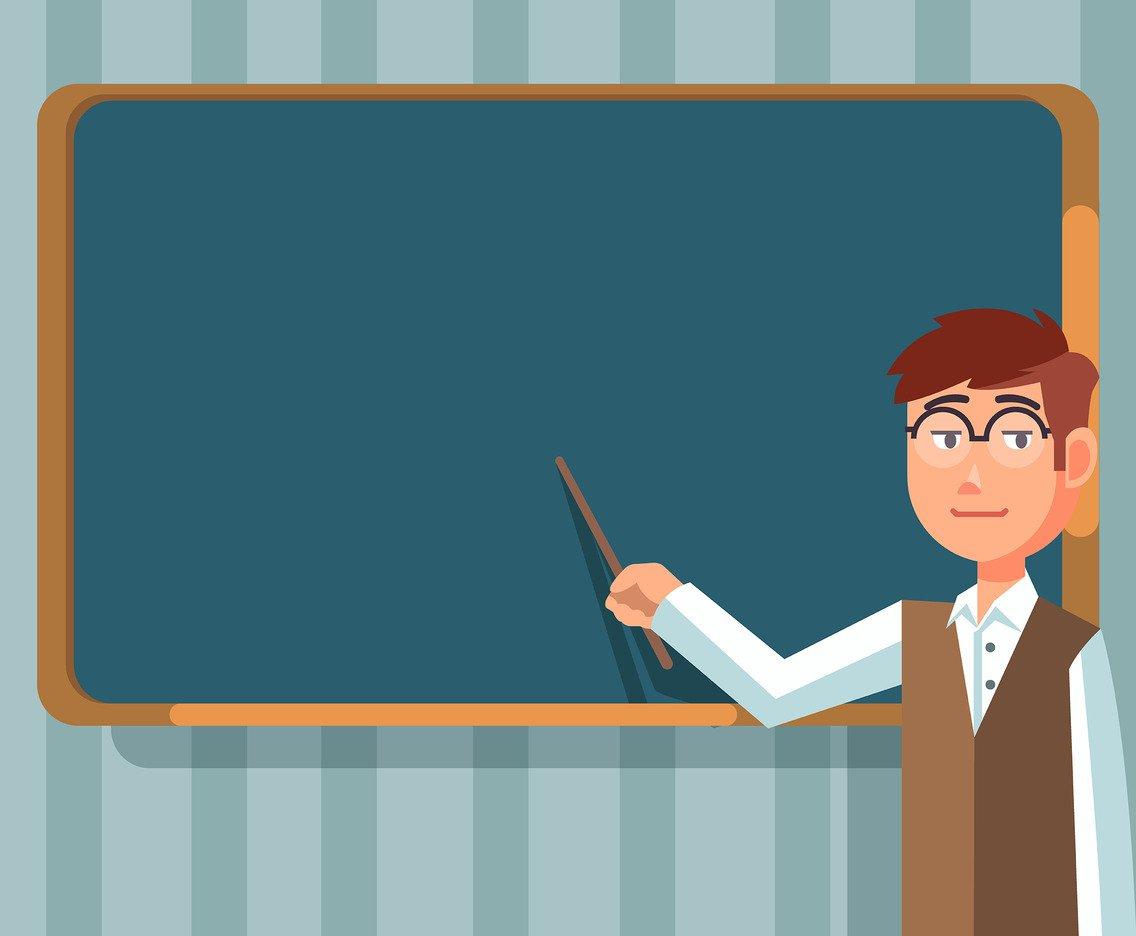 1136x936 Education Background With Teacher Vector Vector Art Amp Graphics