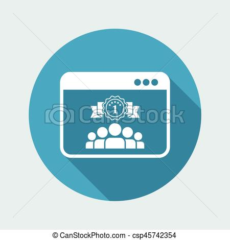 450x470 Best Working Team Icon Clipart Vector