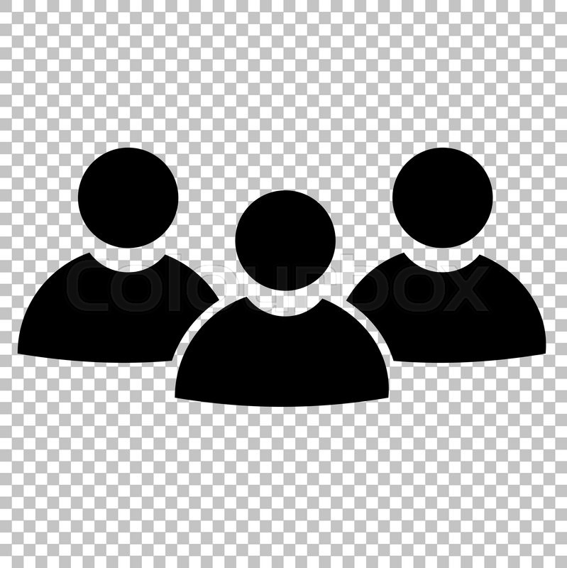 799x800 Team Work Sign. Flat Style Icon On Transparent Background Stock