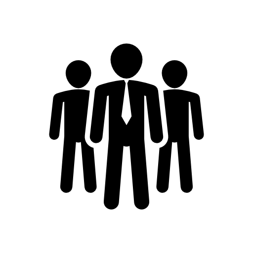 512x512 Business Male Team Vector Icon People Icons Icons Download