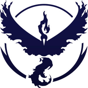 299x300 Pokemon Go Team Valor Logo Vector (.ai) Free Download
