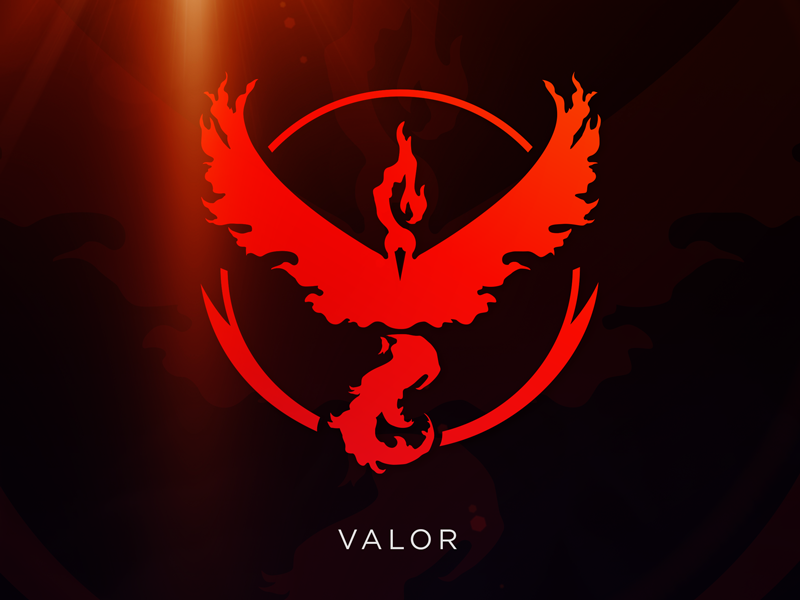 800x600 Valor Pokemon Go Team Logo [Vector Download] By Meritt Thomas
