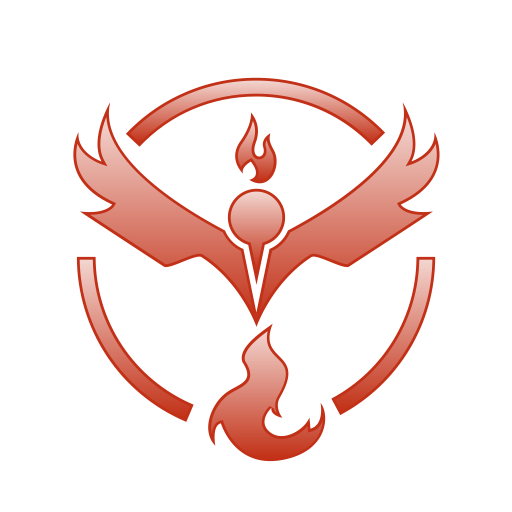 512x512 Go, Pokemon, Team, Valor Icon