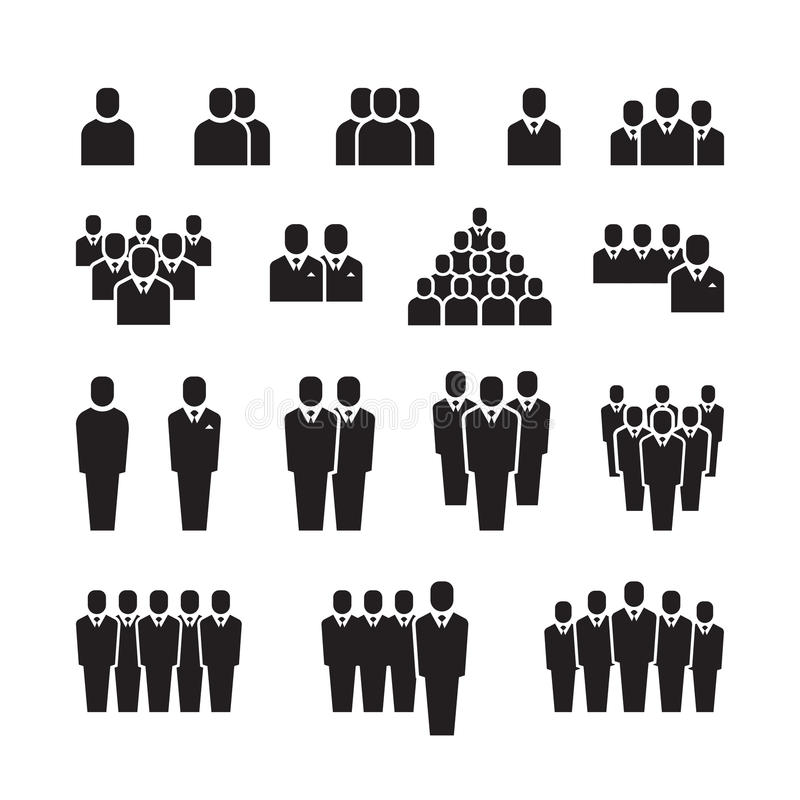 800x800 Business Team Silhouette People Employee Group Crowd Vector Free