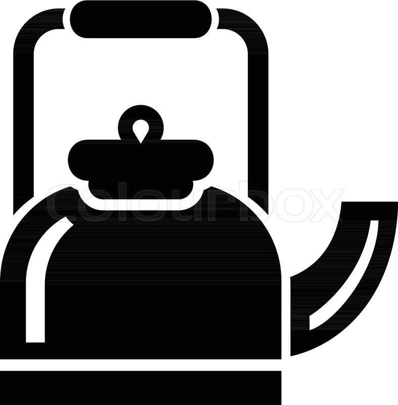 787x800 Standing Teapot Icon. Simple Illustration Of Standing Teapot