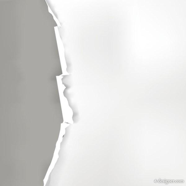 600x600 4 Designer Torn Paper 031 Vector Material
