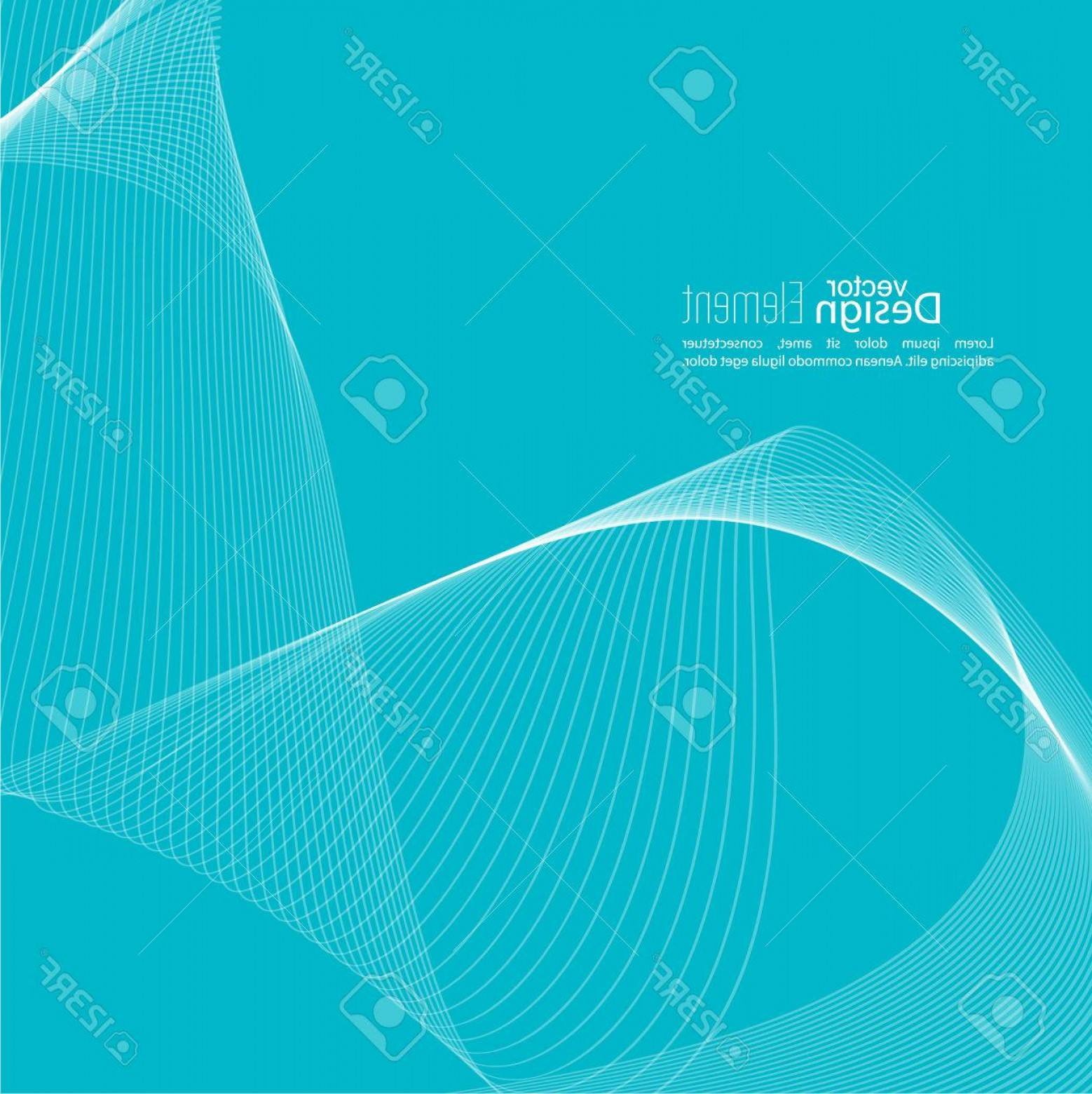 1558x1560 Photostock Vector Abstract Techno Background With Lines In Waves