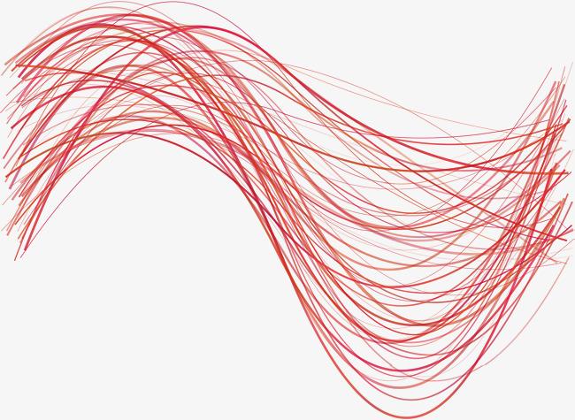 650x475 Red Tech Lines, Vector Png, Technological Sense, Artistic Sense