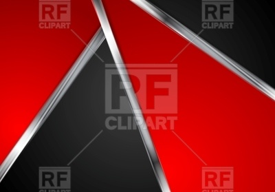 400x279 Contrast Red And Black Tech Background With Lines Vector Image