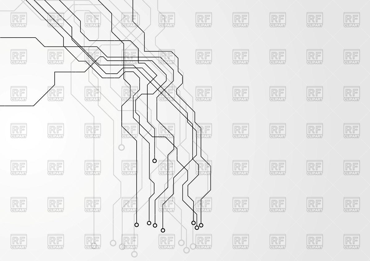 1200x847 Grey Hi Tech Background Vector Image Vector Artwork Of