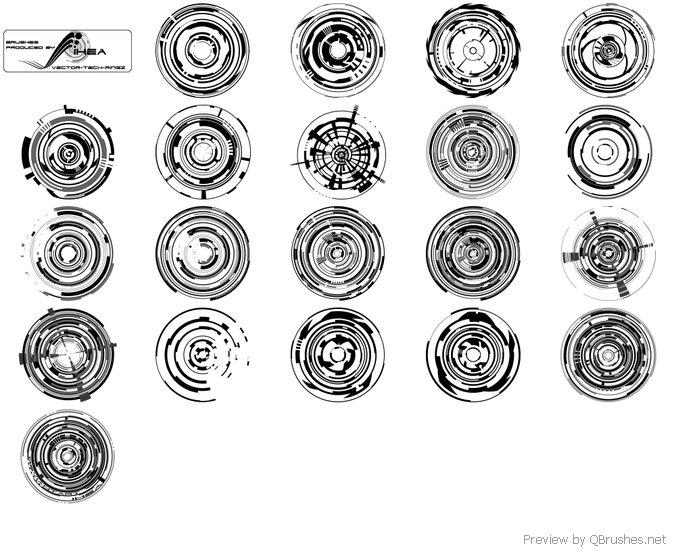 676x557 Vector Tech Rings