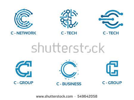 450x335 Blue Tech Logo Design Vector Download Free Vector Art Stock Tech