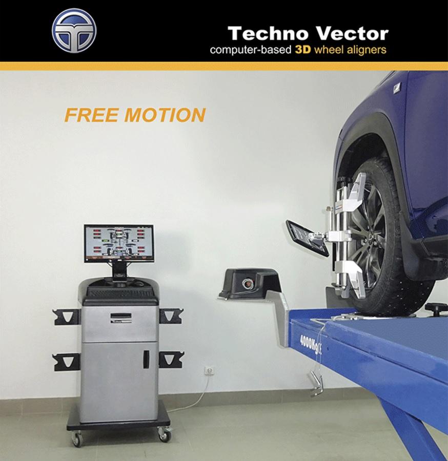 874x900 Techno Vector 6 3d Wheel Aligner