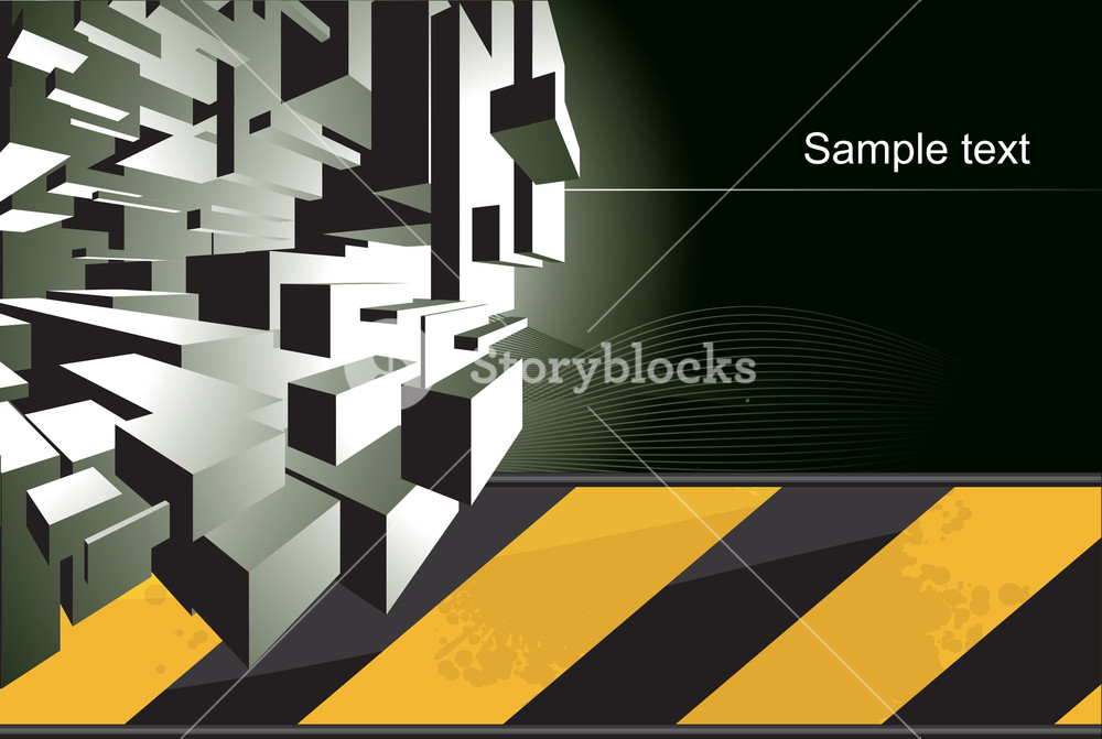1000x671 Techno Vector Background. Royalty Free Stock Image