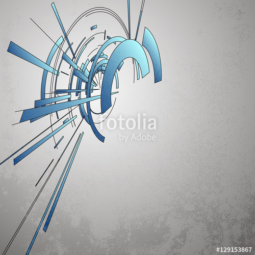 500x500 Techno Vector Circle Abstract Background Stock Image And Royalty