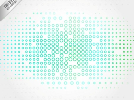 452x336 Technology Background With Small Circles Free Vector Background