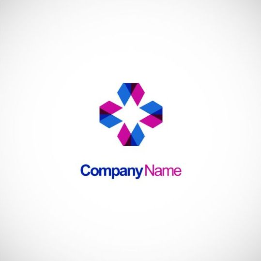 539x539 Circle Triangle Geometry Colored Technology Logo Vector Free Download