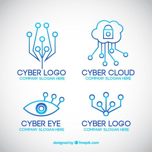 626x626 Modern Line Technology Logo Templates Vector Free Download