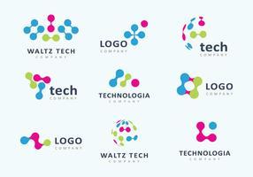 286x200 Tech Logo Free Vector Art