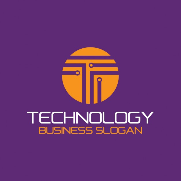 626x626 Abstract Technology Logo Vector Free Download