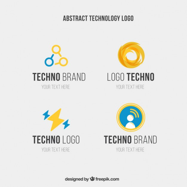 626x626 Abstract Technology Logo Vector Premium Download
