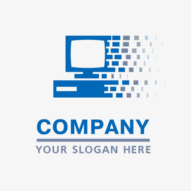650x651 Blue Computer Technology Logo Vector, Computer, Logo, Vector Png