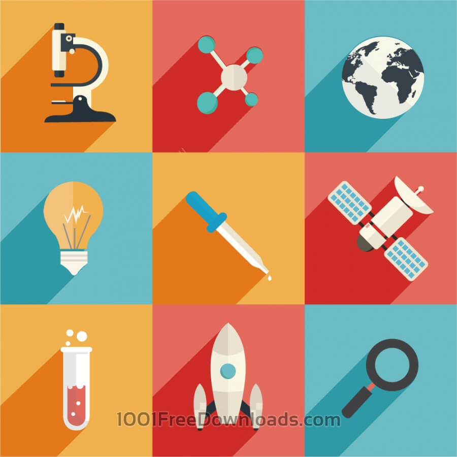 900x900 Free Vectors Science And Technology Icons Icons