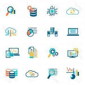 300x300 Photostock Vector Database Analytics Information Technology