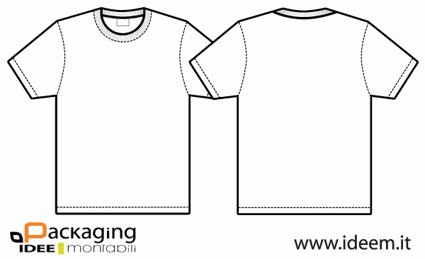 600x366 T Shirt Template Vector Easy Template Example