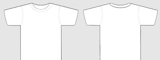 530x200 15 Blank T Shirt Mockup Templates