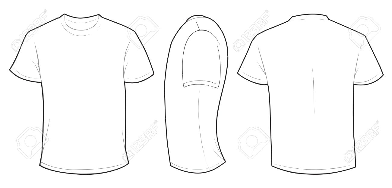 Tee Shirt Template Vector At Getdrawings Com Free For Personal Use